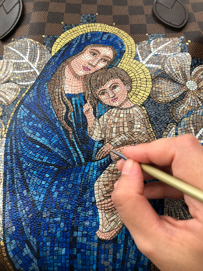 leather-painting-bag-hail-mary-detailed