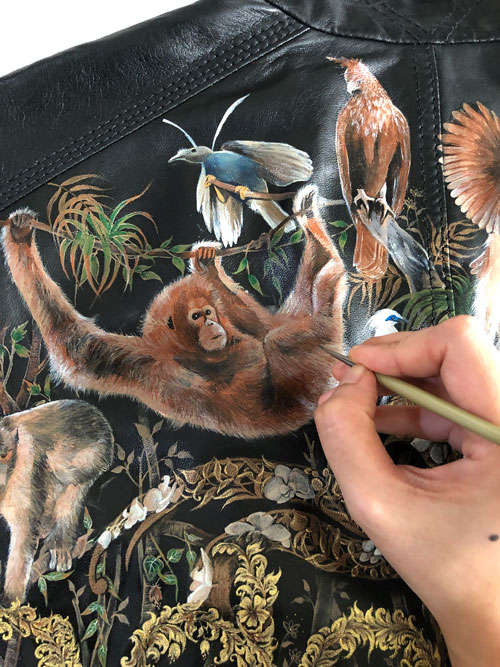 leather-painting-indonesia-jacket-exotic-animal
