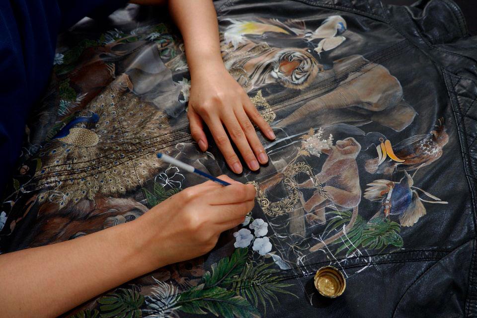 leather-painting-indonesian-jacket-rare-custom